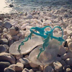 ZHOELALA Milano ZL-SH05 Sandalo infradito con cavalluccio