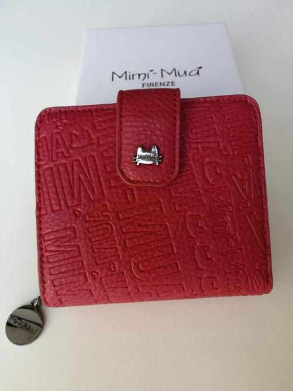 MIMI' MUA' Firenze M9-4182 Portamonete multilogo Rosso