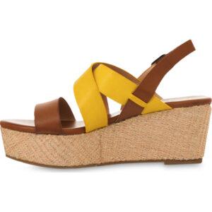 TWINSET MS8Z00 Sandalo con zeppa cangiante