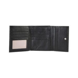 GATTINONI Portafoglio in pelle colore Nero