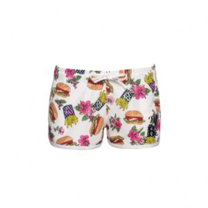 2BEKINI 7641-13 Shorts stampa Food