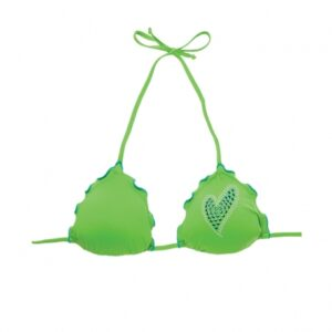 2BEKINI Triangolo Frill Heart Green