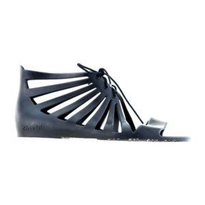 ZHOELALA Milano ZL-WD05 Sandalo nero con stringhe